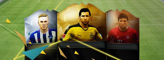 Das Bundesliga-FUT-Team der Saison 2015/16 in FIFA 16!