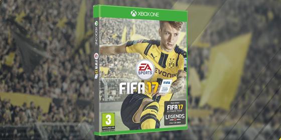 Der Dortmunder Marco Reus st��t Messi vom Thron und ziert das FIFA 17-Cover.