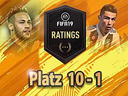 FIFA 19: Die zehn besten Spieler der Fußballsimulation