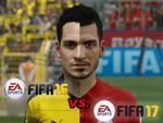 FIFA 16 vs. FIFA 17 - FCB im Grafikvergleich!