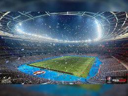Das Stade de France wird in PES 2016 ebenfalls enthalten sein.