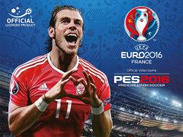 Gareth Bale wird das Cover von Konamis UEFA EURO 2016 zieren.