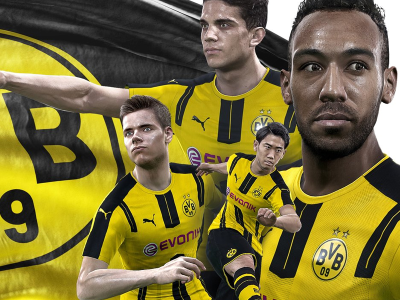 pes 2017 auf liverpool folgt borussia dortmund startseite kicker. Black Bedroom Furniture Sets. Home Design Ideas