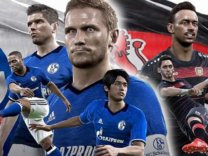 pes 2017 schalke und leverkusen sind dabei startseite kicker. Black Bedroom Furniture Sets. Home Design Ideas