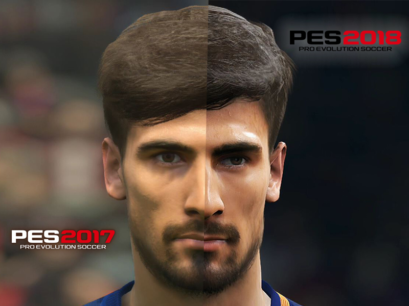pes 2017 vs 2018 der fc barcelona im vergleich pes bildergalerie kicker. Black Bedroom Furniture Sets. Home Design Ideas