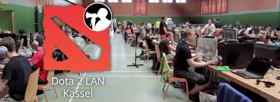 In Kassel findet die größte deutsche Dota 2-Lan mit 360 Leuten statt!