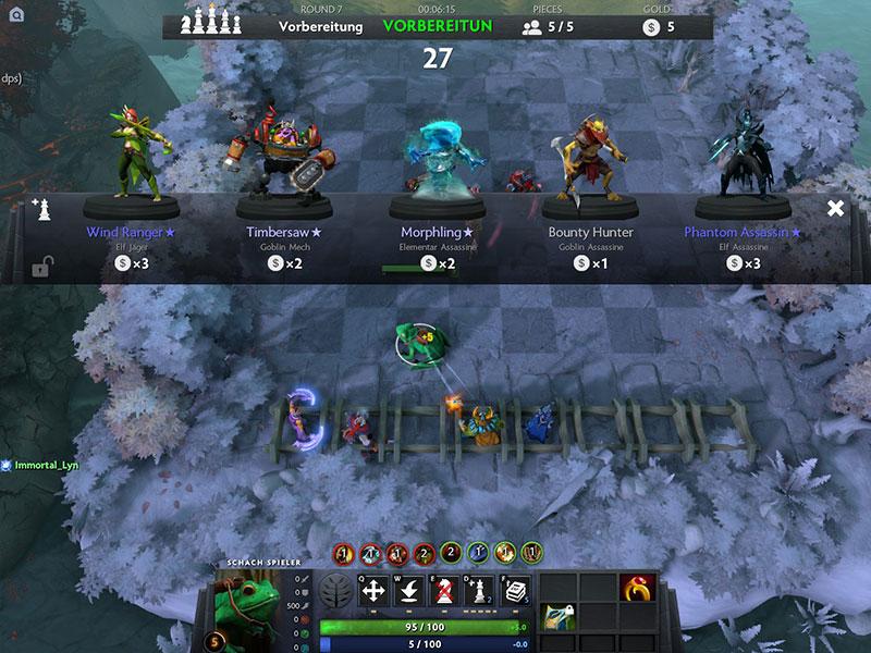 Zu Beginn jeder Runde bekommen die Spieler neue Helden vorgeschlagen, die gegen Gold erworben werden können.