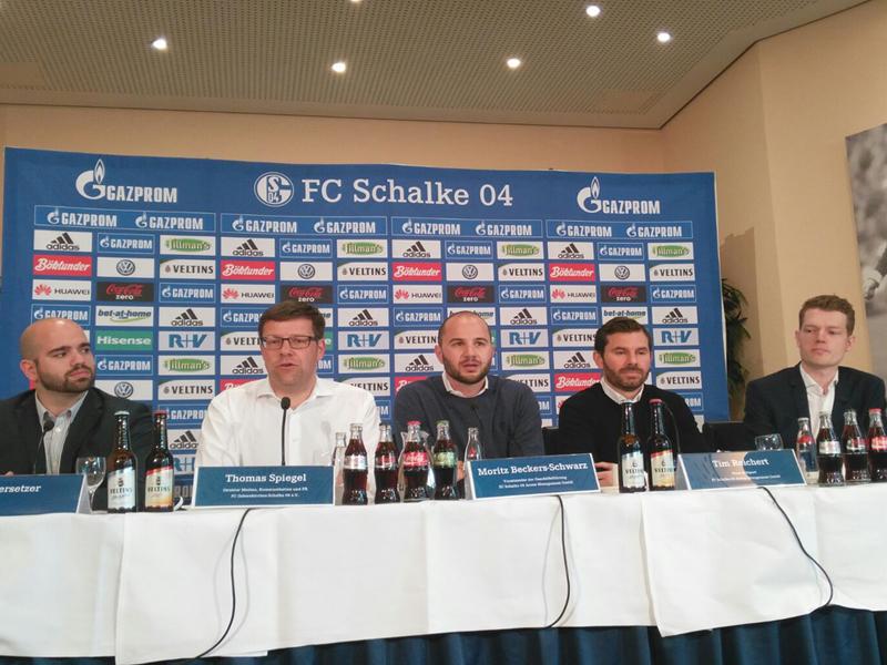 Der FC Schalke 04 stellt seine Pläne für den eSport vor.