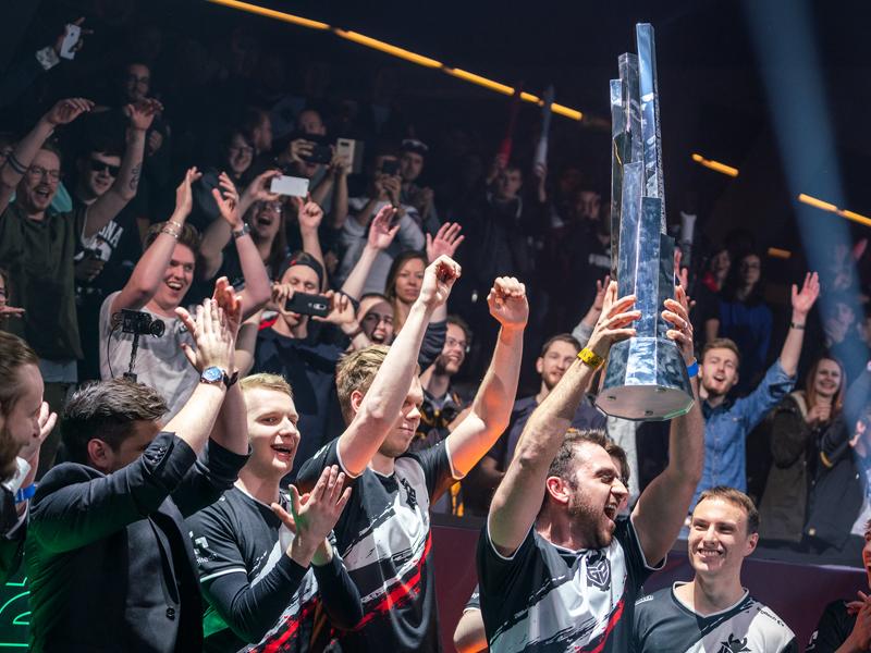 Jubel in Rotterdam. G2 Esports gewinnt die Frühlingssaison der LEC.