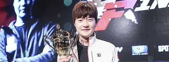 Kim 'Stats' Dae Yeob von KT Rolster gewinnt die Crossfinals der GSL und SSL.