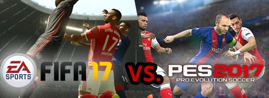 FIFA versus PES: Wie Ihr entschieden habt.