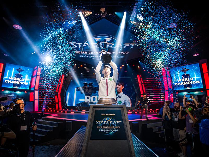 Lee 'Rogue' Byung Ryul von Jin Air Green Wings ist neuer StarCraft II-Weltmeister.
