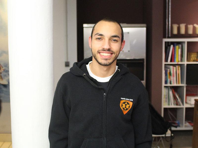 """""""Für mich ist die ESL Meisterschaft sehr wichtig"""", sagt Mohammed Harkous über die ESLM."""
