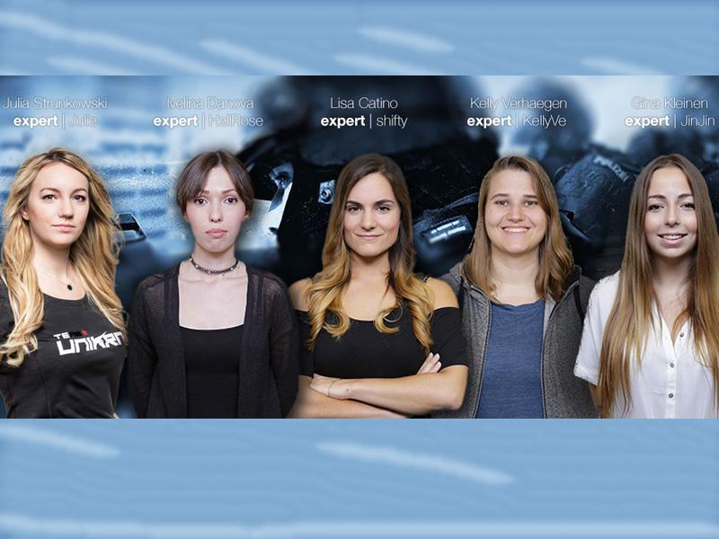 Lisa 'shifty' Catino und ihr Frauenteam.
