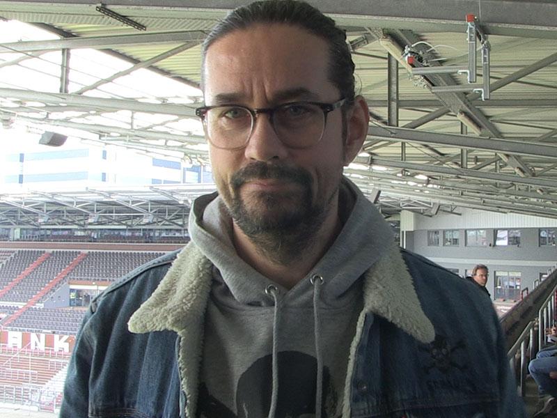 Martin Drust, Marketingleiter des FC St. Pauli.