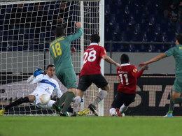 Didier Ya Konan trifft zum 2:1