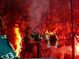 Fans von PAOK Saloniki