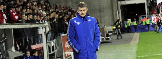 Namhafter Trainer bei Molde: Ole Gunnar Solskjaer.