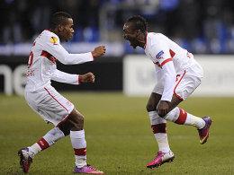 Ibrahima Traoré und Arthur Boka