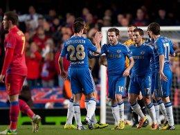 Auf dem Weg zum zweiten Europapokal-Titel in Folge? Der FC Chelsea steht im Viertelfinale der Europa League.