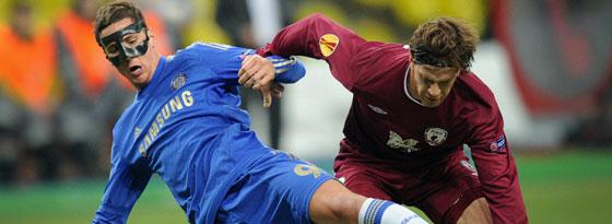 Chelseas Torres, hier gegen Kasans Ansaldi, erzielte das frühe 1:0 für die Londoner.