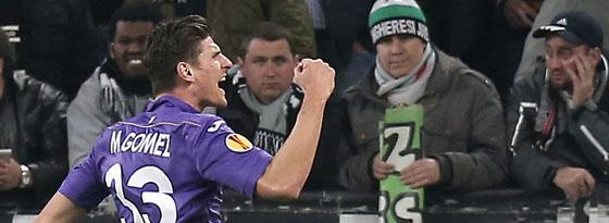 Als Joker erfolgreich: Mario Gomez ließ die Juventus-Fans verstummen.