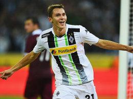 Freut sich über seine drei Tore: Branimir Hrgota.