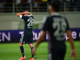 Verzweifelt: Olympique Lyon spielt in dieser Saison nicht mehr international.