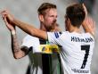 Tanzen derzeit durch die Bundesliga und Europa: Die M�nchengladbacher Andr� Hahn (li.) und Patrick Herrmann.