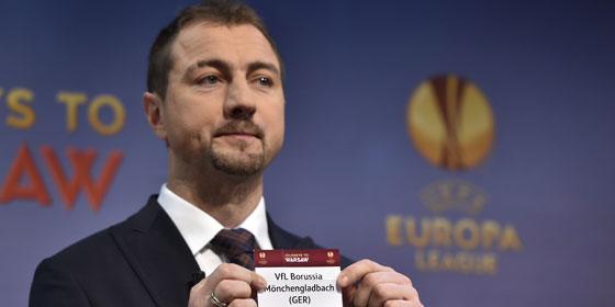 Europa-League-Auslosung mit Jerzy Dudek