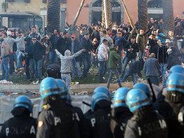 Hooligans von Feyenoord Rotterdam