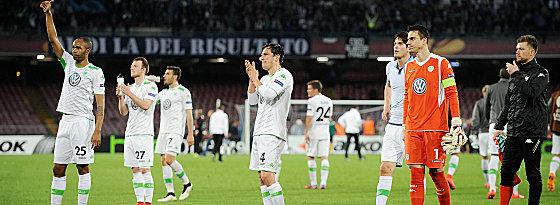 Abschied aus Europa: Der VfL bedankt sich bei seinen Fans.