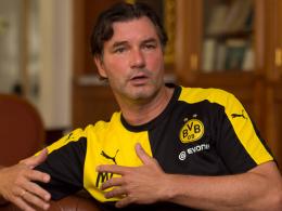 Warnt vor dem Spiel gegen den Wolfsberger AC: BVB-Sportdirektor Michael Zorc.