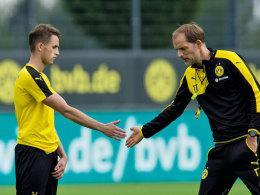 Ist mit Neuzugang Adnan Januzaj sehr zufrieden: BVB-Coach Thomas Tuchel.