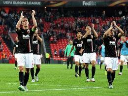 Erhobenen Hauptes: Der FCA Augsburg lieferte in San Mames eine gute Mannschaftsleistung ab, verlor dennoch 1:3.