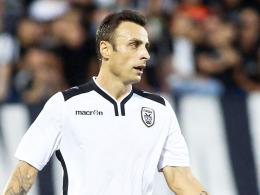 """""""Großartiger Stürmer und großartige Person"""": PAOK Salonikis Angreifer Dimitar Berbatov genießt in Deutschland noch immer Respekt."""