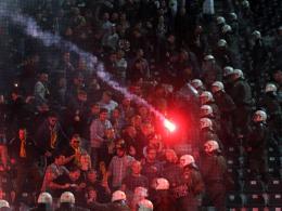 Strafe für den BVB: Ausschreitungen bei der Europa-League-Partie in Thessaloniki (1. Oktober).