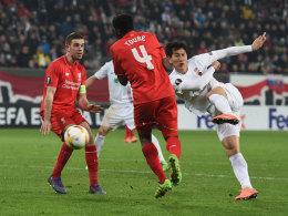 FCA erk�mpft sich 0:0, S04 l�sst Sieg liegen, Bayer 1:0