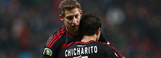 Stefan Kießling und Chicharito