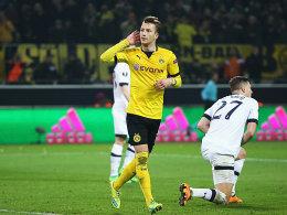 Dortmunder Doppelpacker: Marco Reus.
