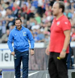 W�rde sich �ber ein Duell mit Br�ndby freuen: Hertha-Coach Pal Dardai.