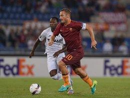 Totti schenkt sich drei Torvorlagen