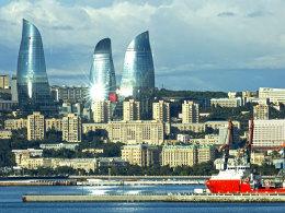 LIVE!-Bilder: Bestes Wetter für Mainz in Baku