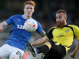 Aus in Runde 1: Rangers-Blamage gegen Niedercorn