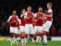 Arsenal dreht gegen Köln auf - Hertha-Nullnummer