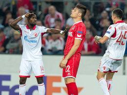 Hertha verliert - Kölner Alu-Pech
