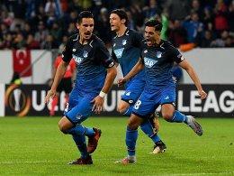 Im fünften Anlauf: Hoffenheim schreibt Geschichte