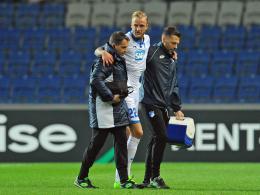 Hoffenheim: Sorgen um Abwehrchef Vogt
