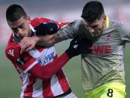 Auch Köln verabschiedet sich aus der Europa League