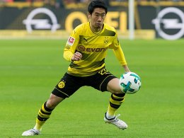 BVB: Ohne Kagawa gegen Bergamo
